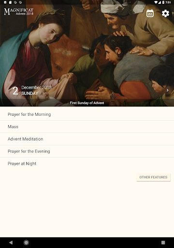 Screenshot for Magnificat Advent 2018 in United States Play Store