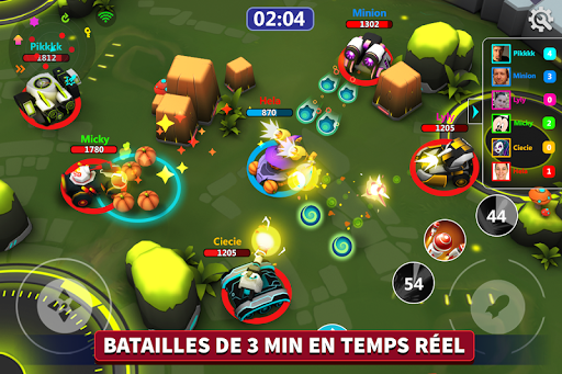 Tank Raid en ligne - 3v3 Battles  screenshots 1