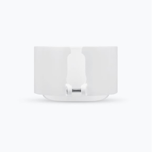 Side view of Wasserstein Anti-Theft Mount for Google Nest Cam (outdoor or indoor, battery) with Metal chain