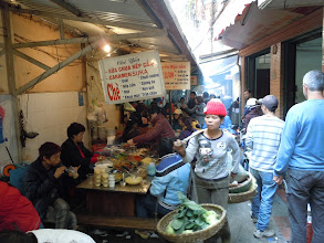 Photo: Food alley