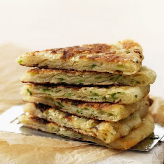 Chinese Spring Onion Pancakes