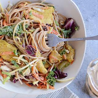 Satay Chicken Noodle Salad.