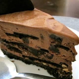 Famous Wafer Chocolate Ice Cream Cake.