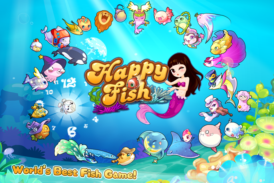 Happy Fish- screenshot