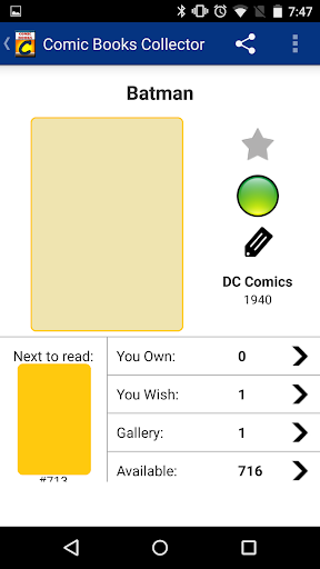 玩免費漫畫APP|下載Comic Books Collector app不用錢|硬是要APP