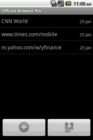 Offline Browser Pro  screenshots 1