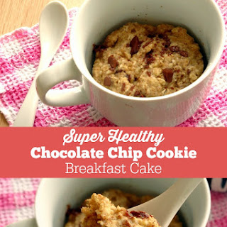Super Healthy Chocolate Chip Cookie Breakfast Cake