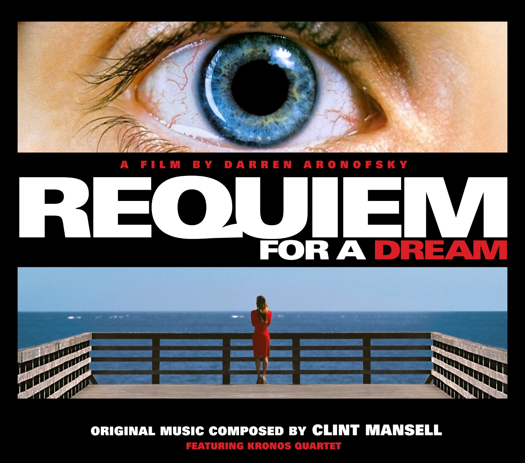 Album Artist: Clint Mansell featuring Kronos Quartet / Album Title: Requiem for a Dream (Original Music Composed by Clint Mansell featuring Kronos Quartet) [Original Slip Box Album Art]