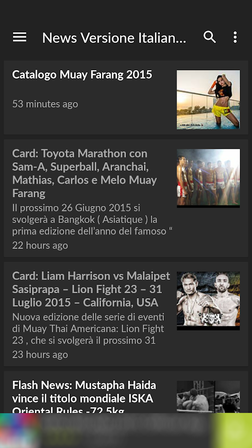 Muay Thai News MuayFarang.com- screenshot