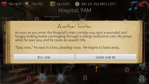 overlive: a zombie survival story and rpg screenshot 2