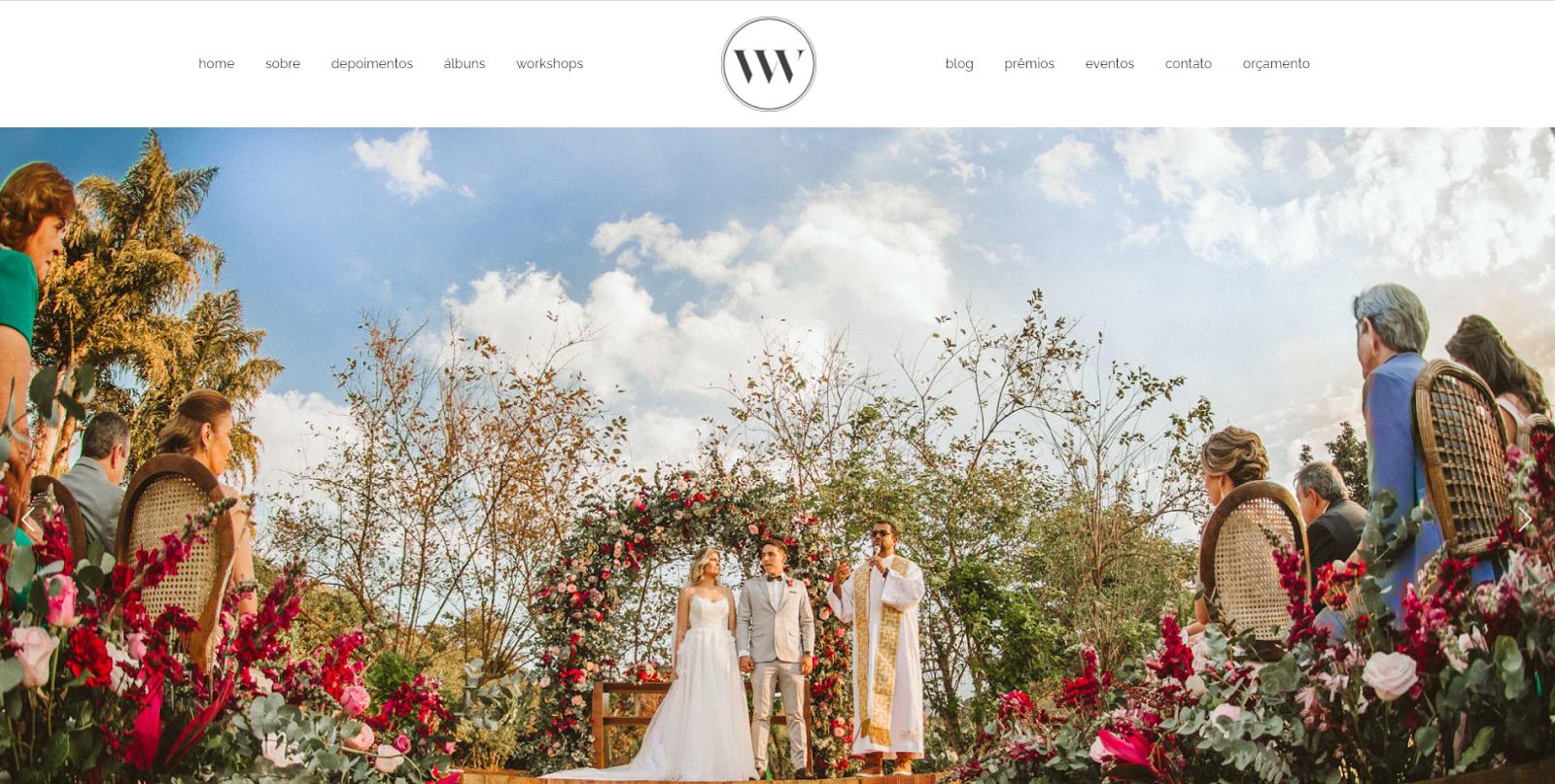 Site para fotógrafos: ValWander
