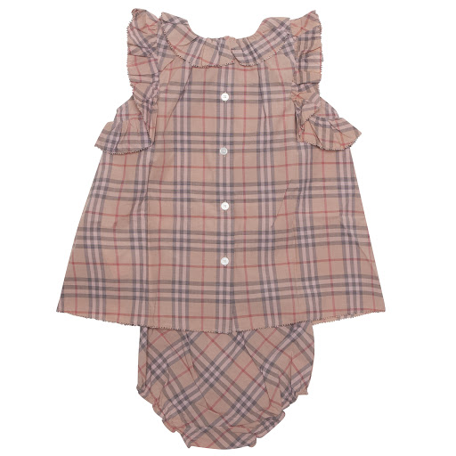 Thumbnail images of Burberry Dress & Knicker Set
