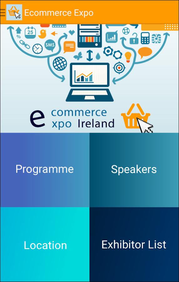 eCommerce Expo Ireland 2015- screenshot