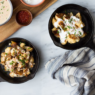 Roasted Cauliflower With Yogurt Sauce (Zahra).