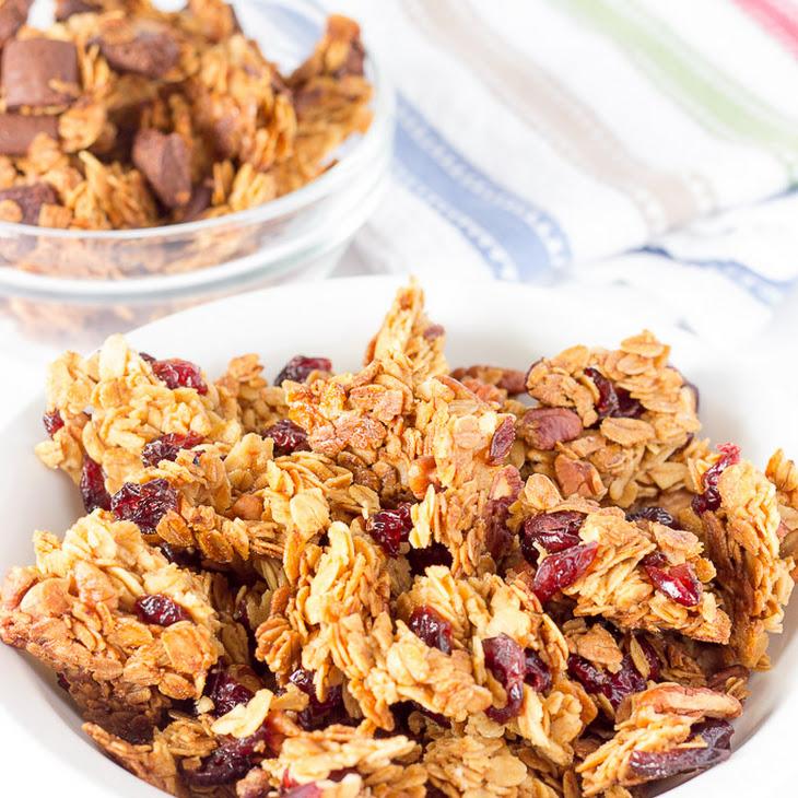 Basic Large Chunk Granola Recipe