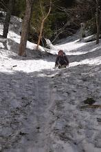 Photo: ひたすら滑った。 ケツで。