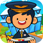 My Pretend Airport - Kids Travel Town Games icon