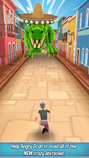 Angry Gran Run - Running Game  screenshots 3