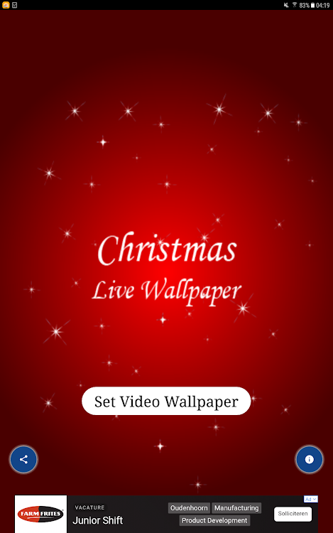 Christmas Live Wallpaper Amazing Wallpaper Android