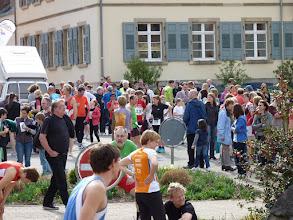Photo: Start und Ziel Marktplatz Sulzburg