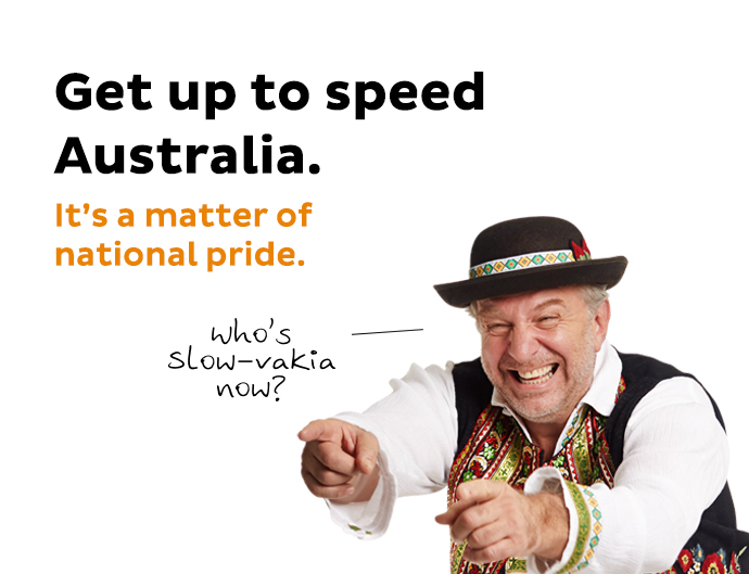 Image result for nbn australia slow