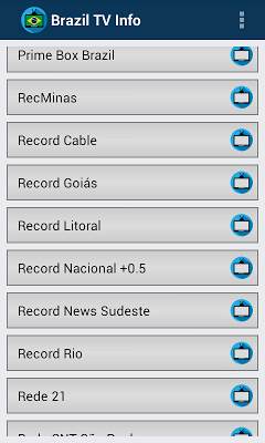 TV Brazil Online Info Channels - screenshot