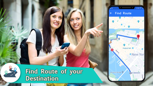 Voice GPS Navigation 2020 - Live Earth Map Parking 1.1.2 2