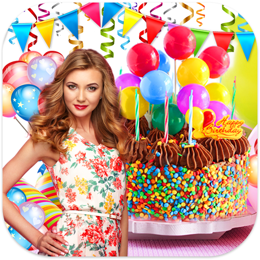 Birthday Cake Photo Frames (app)