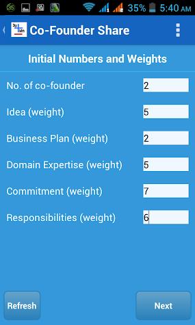 Startup Math Screenshot