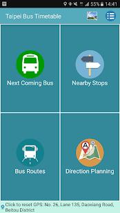 Taipei Bus Timetable - náhled