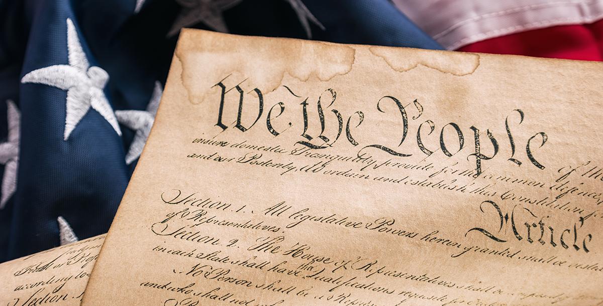 President Trump, Mocking the Constitution | Constitutional ...