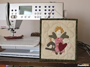 Photo: Sewing Angel.   Natalie Bird design.