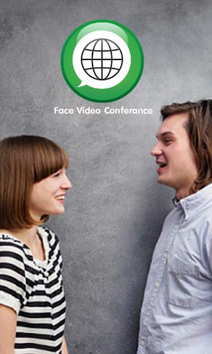 顔ビデオ会議
