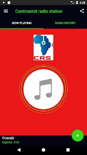 Continental Radio Station App - náhled