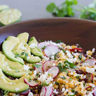 Grilled Corn and Black Bean Salad.