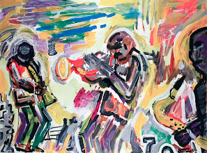 Photo: Another Live Session - Acrylic on Canvas