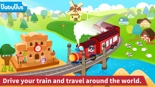 Baby Panda's Train Screenshot