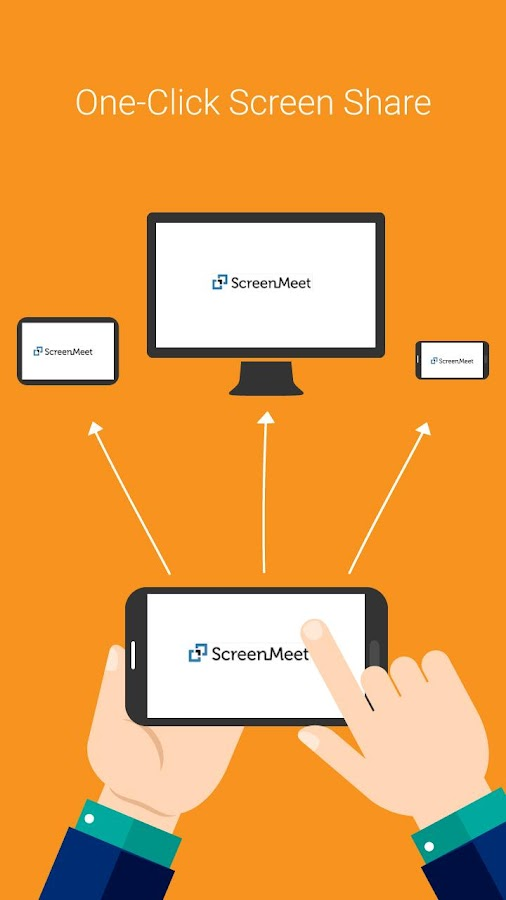 ScreenMeet. Easy Phone Meeting- screenshot