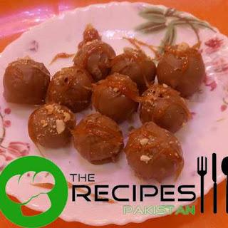 Chocolate Banoffee Toffee - English and Urdu