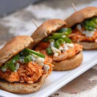 Buffalo Chicken Sliders.