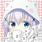 anime Color - Paint by Number Free