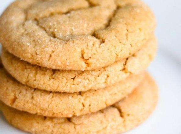 Soft And Chewy Peanut Butter Cookies! Recipe