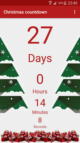 android Christmas Countdown Screenshot 0