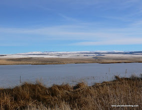 Photo: Steens Mountain from Benson Pond