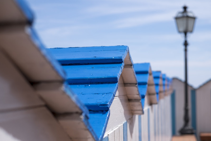 Azzurro sfocato di claudioblc