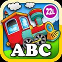 Kids Animal Train - First Word icon