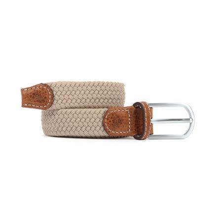 BillyBelt Braid belt sandy beige thin