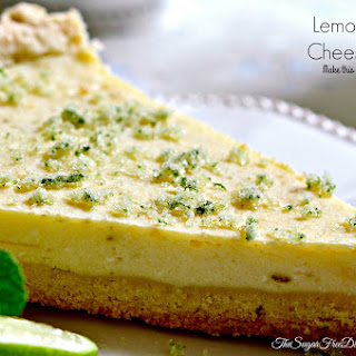 DELICIOUS Lemon Lime Cheesecake