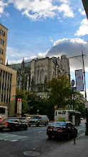 Photo: St John the Devine. Philippe Petit is an artist in residence there, but not today.