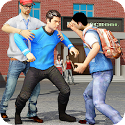 Game High School Fighting Gang: Gangster Teenage Karate APK for Kindle